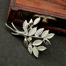 Elegant Branch Women Lady Rhinestone Large Brooch Pin Wedding Prom Pin Jewelry