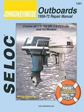 NEW Johnson/Evinrude Outboards 1958-72 Repair Manual by Seloc Publications Paper