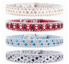 BRAND NEW SPARKLY GLITTER BEADED DOG PET COLLAR SMALL DOG