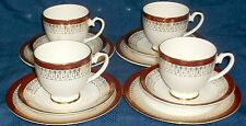 ROYAL GRAFTON RED MAJESTIC 4 SMALL TRIOS  GOOD CONDITION