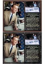 Vin Scully Brooklyn/Los Angeles Dodgers Photo Plaque HOF