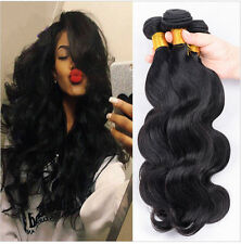 3 Bundles Unprocessed Brazilian Body Wave Human Hair Weave Extensions 300g all