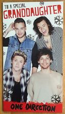'Granddaughter' One Direction Christmas Card  - 9