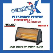 ARLEC 2400W RADIANT HEATER REH216 - (NEW) - (PICKUP ONLY)