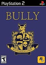Bully  (Sony PlayStation 2, 2006) ps2 Game w/ case & instructions Good Condition