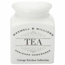 NEW Maxwell & Williams Cottage Kitchen Tea Canister