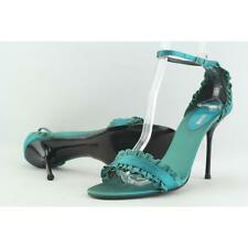 Vero Cuoio COOL Women US 7 Green Heels Pre Owned 2180