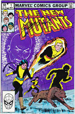 The New Mutants #1 (Mar 1983, Marvel) signed by CHRIS CLAREMONT FREE SHIPPING