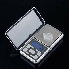 Stainless Steel 500g 0.1g Digital Electronic LCD Jewelry Pocket Weight Scale M2
