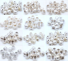 20/50pcs Alloy Lantern Shape Spacer Bead For Jewelry Spacer Loose Beads 8mm