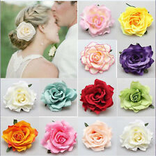 1pcs Bridesmaid Bridal Hot Hair Clip Women Hairpin Rose Flower Wedding Party