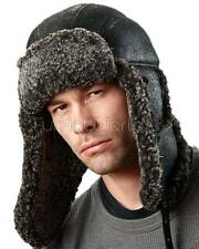 Ultimate B-3 Shearling Sheepskin Aviator in Black -Brand: frr -Made in Canada