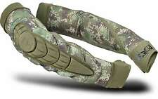 Planet Eclipse Paintball HD Core Elbow Pads - HDE Camo - Large