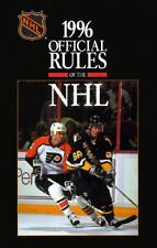 The Official Rules of the Nhl (1996)