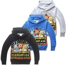 Gifts FNAF Kids Boys Girls Five Nights at Freddy's Hoodies Unisex Coats 4-13Yrs