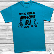 This Is What An Awesome Dj Looks Like T-shirt S-5XL Present Gift Funny