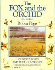 PAGE ROBIN FIELD SPORTS BOOK THE FOX & THE ORCHID WILDLIFE hardback BARGAIN new