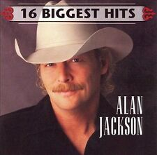 16 Biggest Hits by Alan Jackson (CD, Aug-2007, Legacy) CD & PAPER SLEEVE ONLY