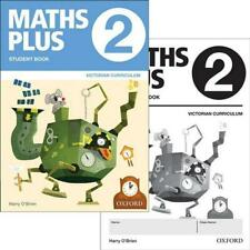 NEW Maths Plus VIC Australian Curriculum Ed Student and Assessment Book 2 Value