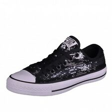 Converse CT Sequin OX Chucks Ladies' shoes All Star Chuck black silver black