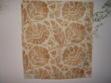 """Lee Jofa G P & J Baker """"Poppies""""  floral fabric remnant for crafts multiple clrs"""