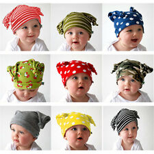 Unisex Baby Cap Beanie Boy Girl Toddler Infant Children Cotton Soft Cute Hat HP
