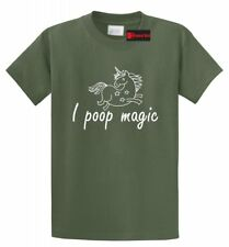 I Poop Magic Funny Unicorn T Shirt Fairy Unicorn Horse Lover Gift Tee Shirt