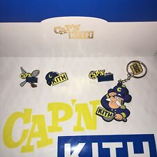 Cap'n Kith Pins & Keychains - Captain Crunch Ronnie Fieg Treats