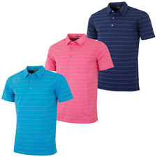 Bobby Jones Mens Billy Stripe with Pocket Golf Polo Shirt 58% OFF RRP