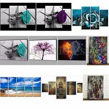 Canvas Print Painting Wall Art Ethnic Home Decor Unframed Hanging Picture Flower