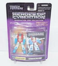 Starscream MISB 2001 HOC ACT PVC G1 Transformers Heroes Of Cybertron Decepticon