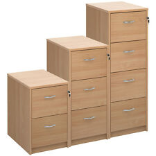 Beech 2/3/4 Drawer Foolscap Office Filing Cabinet