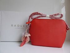 Radley Gift Boxed Bourton Leather Across Body Bag BNWT RRP £139 with Dust Bag