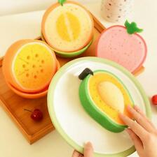 Lovely Kitchen  Scouring pad Fruit Funny Washing dishes Clean cloth Creative