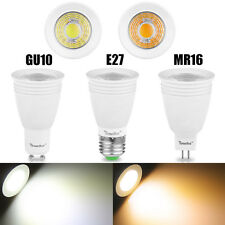 Ultra Bright MR16/GU10/E27/ Dimmable COB Spot Light White LED Bulb 5W/7W/9W Lamp