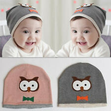 Baby Boy New Cute Kids Beanie Hat Cap Hot Owl Soft Cotton knit 1pcs Girl