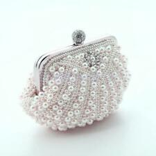 Women Party Prom Bridal Rhinestone Evening Clutch Bag HandBag Purse