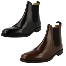 Mens Loake Slip On Ankle Boots Label - 290