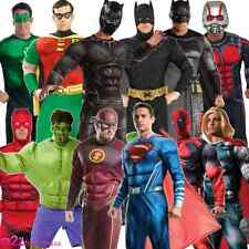 MENS ADULT SUPERHERO HALLOWEEN COSPLAY COMIC BOOK SUPER HERO FANCY DRESS COSTUME