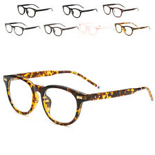 Fashion Eyeglass Frames Vintage Transparent Glasses Retro Plain Lens Frame