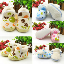 1Pair Ankle Soft Sole Boots Shoes Warm Infant Toddler Boy Girls New Winter Baby