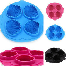 Silicone Brain Shaped Ice Cube Chocolate Cake Stylish Maker Mold Mould Tray New