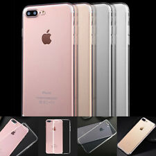 For iPhone 7/7 Plus Back Case Skin Cover Ultra Thin Slim Silicone Soft Clear TPU
