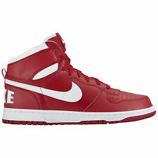 New Nike Men's Big Nike High Shoes (336608-610)  Gym Red/White