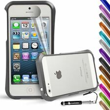 For Apple iPhone SE 5 5S Case Premium Blade Deff Cleave Design Metal Bumper
