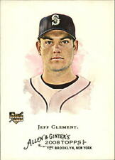 2008 Topps Allen and Ginter #329 Jeff Clement SP (RC)