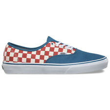 """Vans """"Authentic 50th Anniversary"""" Sneakers (Checkerboard/Blue) Skating Shoes"""