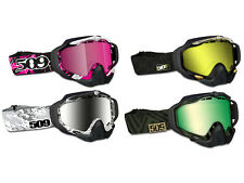 509 Sinister X5 Snow Snowmobile Goggles Dual Poly Lens Anti Fog & Scratch