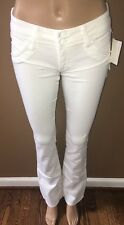 NWT! Hudson Beth Baby Bootcut Slim Jeans White Size 27