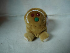 "Puffkins Collection Spice The Gingerbread Guy Plush 4"" Stuffed Animal Swibco"